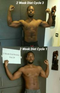 @ondawagib 2 week diet results