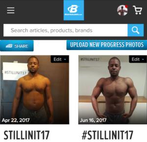 @ondawagon 8 week body transformation